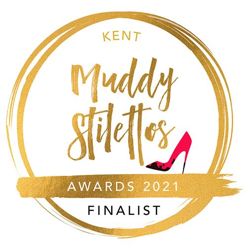 Finalist in the Muddy Stilettos Awards 2021